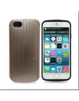 Протектор DeTech за iPhone 6 Plus, Пластмаса, Златист - 51204