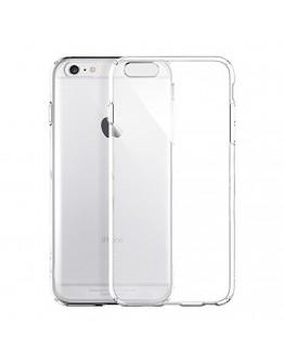 Протектор DeTech за iPhone 6 Plus, Силикон, Ултра тънък 0,33мм, Прозрачен - 51096