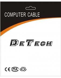 Кабел за данни, DeTech, USB - USB Type-C, 1.0m - 18288