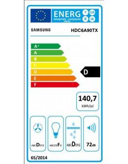 Samsung HDC6A90TX/EUR Cooker Hood,