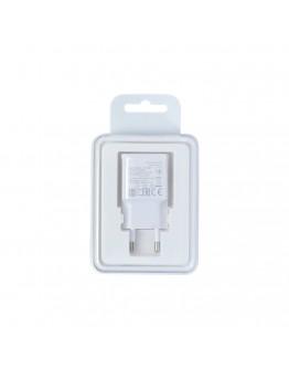 Мрежово зарядно устройство, No brand, 5V / 1A 220V, 1 x USB, Бял - 14861