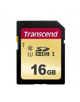 Transcend 16GB UHS-I U1 SD Card, MLC