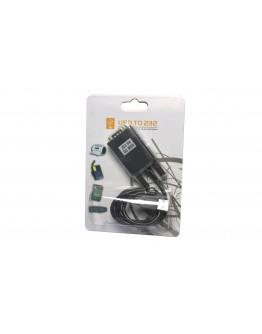 Конвертор No brand USB - RS-232, DB9 to DB25 - 18029