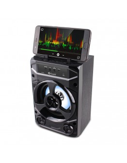 Тонколона Kisonli KK-02, Bluetooth, USB, SD, FM, Черен - 22134