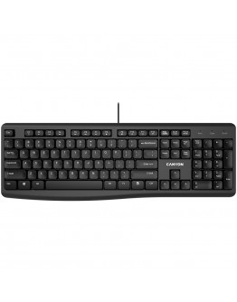 Wired Chocolate Standard Keyboard ,105 keys, slim